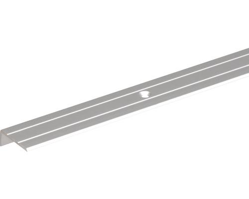 Profil terminal 25x10 aluminiu 1m