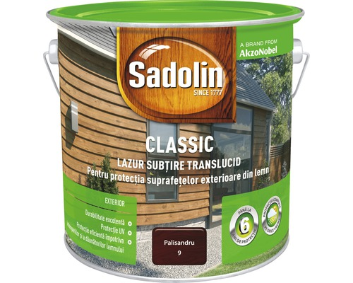 Lazura pentru lemn Sadolin Classic palisandru 2,5 l