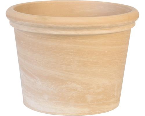 Ghiveci Spang teracota, Ø 24 cm, maro