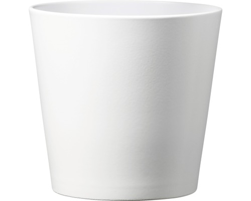 Masca pentru flori Soendgen Dallas, ceramica, Ø 28 cm, alb