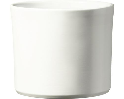 Masca pentru flori Soendgen Miami, ceramica, Ø 28 cm, alb
