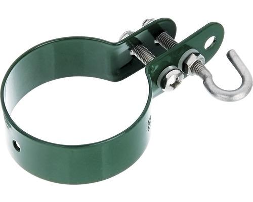 Colier pentru tije de fixare a plasei Ø 6 cm, verde