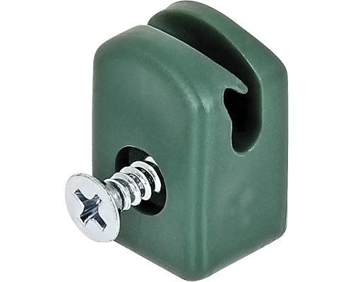 Suport sarma pentru tensionare cu surub, 10 bucati, verde