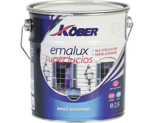 Email superlucios Emalux Köber alb azurat 2,5 l
