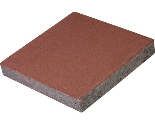 Dală pătrată roșie 40x40x6 cm
