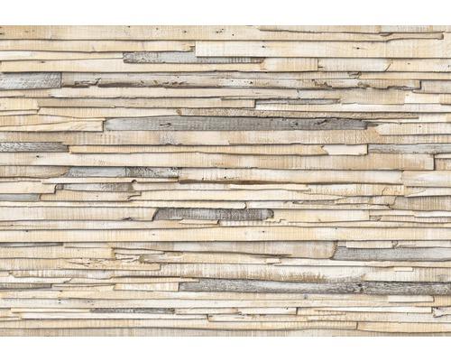 Fototapet Whitewashed Wood 368x254 cm