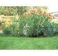 Gard protecție iaz, zincat, verde, lăcuit Ambiente 44 x 76 cm