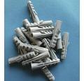 Dibluri plastic fara surub 6x30 mm, 100 bucati