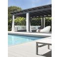 Profil terasă Konsta gri WPC 21x140x2500 mm