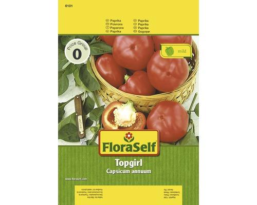 Paprika Topgirl FloraSelf Gemüsesamen