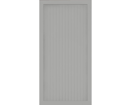 Element principal BasicLine tip A 90 x 180 cm, gri argintiu