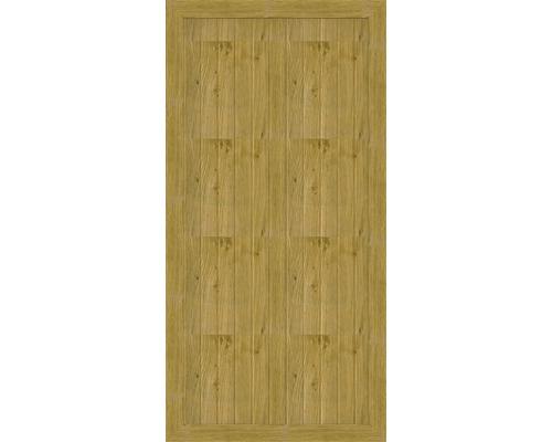 Element principal BasicLine tip A, 90 x 180 cm, stejar noduros natur