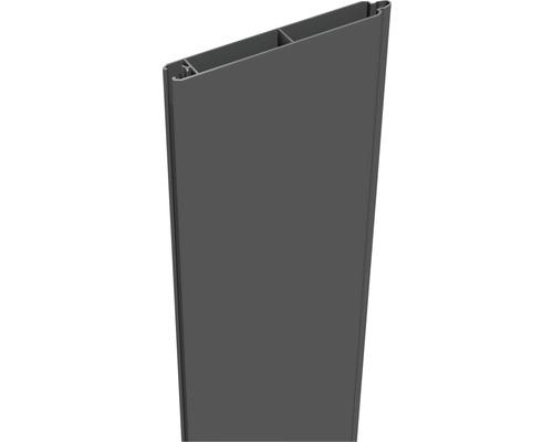 Profil simplu Lumino 180 x 15 cm, antracit
