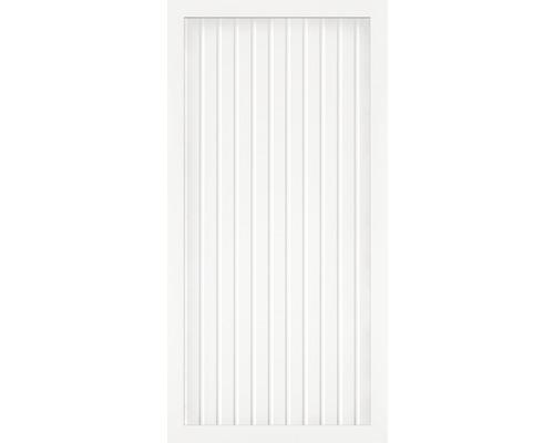 Element principal BasicLine tip A 90 x 180 cm, alb