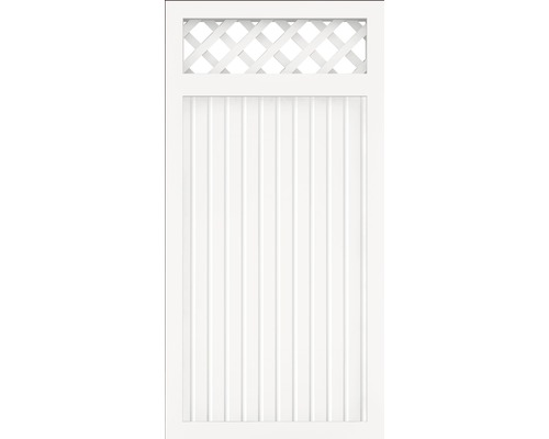 Element principal BasicLine tip C, 90 x 180 cm, alb