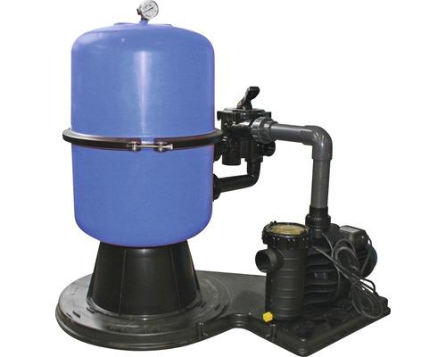 Instalatie de filtrare cu nisip 8mc/h, cu rezervor segmentat