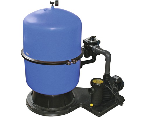 Instalatie de filtrare cu nisip 11mc/h, cu rezervor segmentat