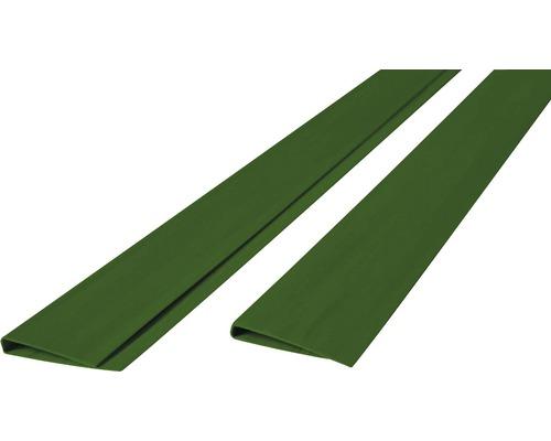 Profil U din PVC, 200 x 45 cm, verde