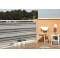 Protectie vizuala balcon, 300 x 90 cm, negru-gri