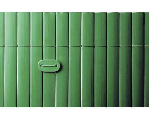 Benzi de fixare din PVC, verde