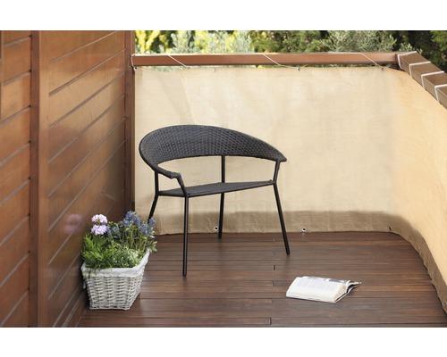 Protecție vizuală balcon, 500 x 90 cm, bambus