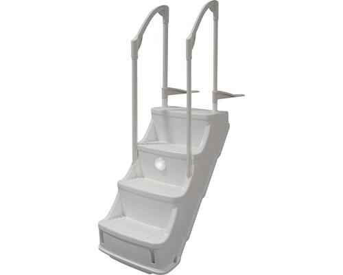 Scara pentru piscina Comfort, H 120 cm, 4 trepte