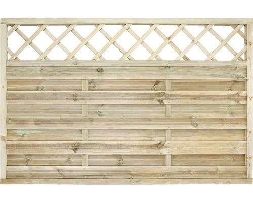 Element de gard Molina cu pergolă 180x120 cm impregnat în autoclavă