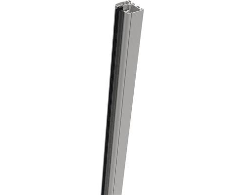 Sina de fixare Belfort 180x4x3,5 cm stanga, gri argintiu