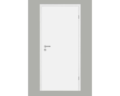 Foaie de ușă Pertura Soley albă 86,0x198,5 dreapta