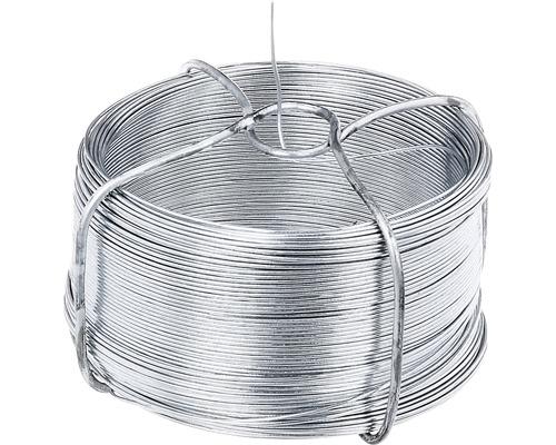 Bobină de sârmă 1200, 0,8 mm/50 m, zincată
