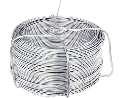 Bobină de sârmă 1200, 1,3 mm/50 m, zincată