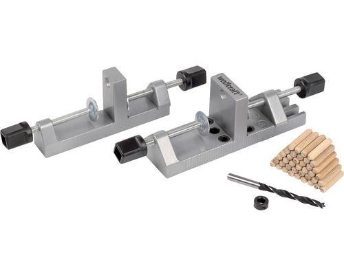 Set pentru aplicat dibluri lemn Wolfcraft Universal