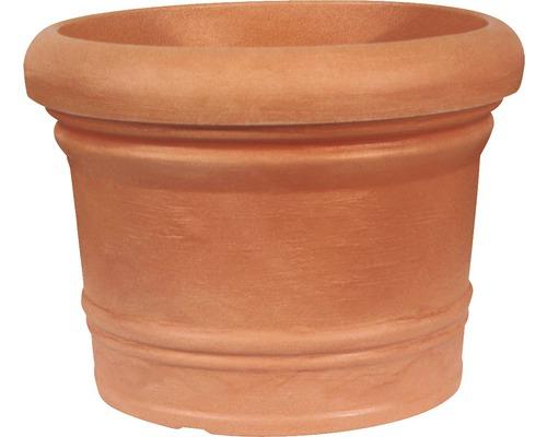 Ghiveci Geli Palermo, plastic, Ø 60 cm, maro
