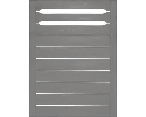 Element gard Ground 90 x 120 cm, gri bazalt