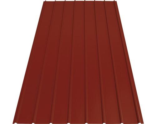 Tablă cutată Precit Roof H12 roșu cărămiziu 2000x910x0,4 mm
