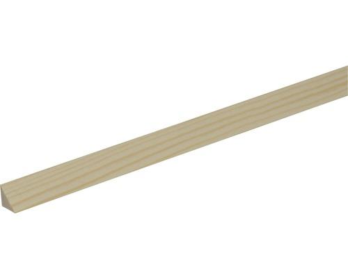 Profil lemn triunghiular Konsta pin 14x14x2000 mm calitatea A