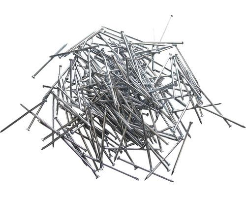 Cuie zincate pentru plinte 1,4x25 mm, 250 bucăți