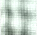 Plasă țesătură plastic pentru garduri, ochiuri pătrate 0,5 cm, marfă la metru 100 cm, verde