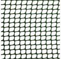 Plasă țesătură plastic pentru garduri, ochiuri pătrate 1 cm, marfă la metru 100 cm, verde