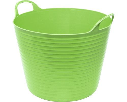 for_q 60 Coș pentru grădină din plastic 60 l, verde