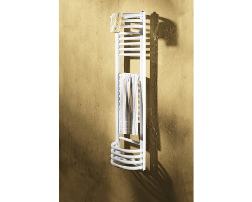 Radiator decorativ Schulte Oslo, 1405x350 mm, alb