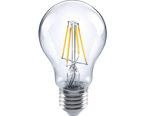 Bec LED Flair E27 4W 470 lumeni, glob clar A60, lumină caldă