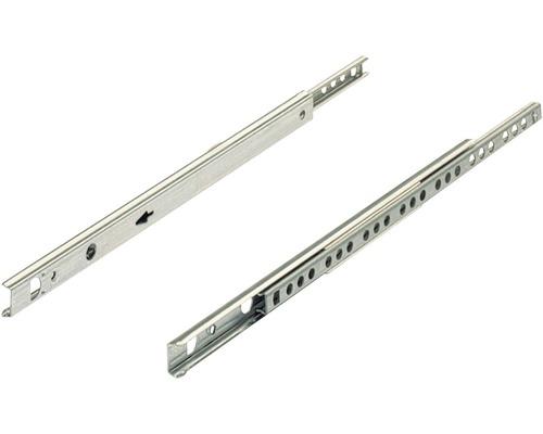 Glisiere tip sina cu bile Hettich KA1730 220-355 mm, max. 10kg, otel zincat, 1 pereche