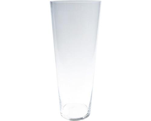Vaza de flori, sticla, Ø 16,5 cm, transparenta