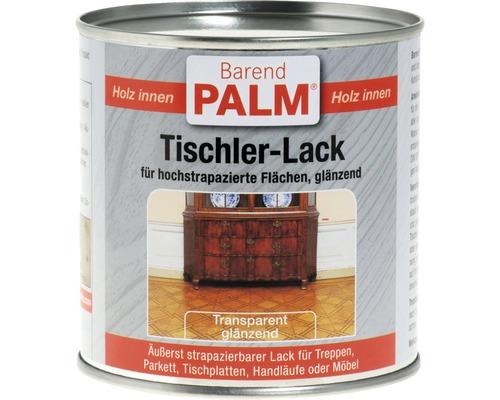 Lac transparent pentru lemn Barend Palm lucios 375 ml