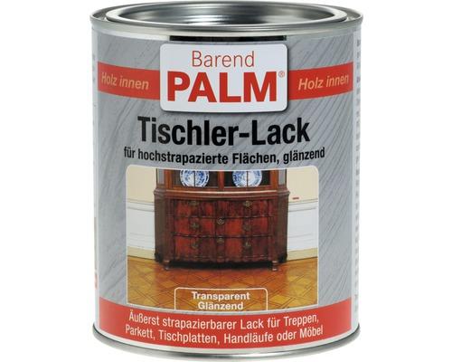 Lac transparent pentru lemn Barend Palm lucios 750 ml