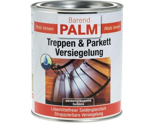 Lac sigilant transparent pentru trepte si parchet Barend Palm satinat 750 ml