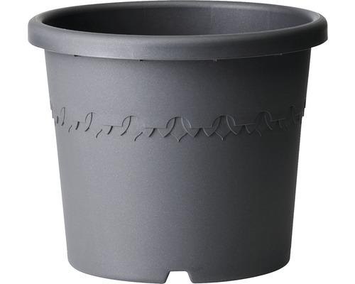 Ghiveci elho Algarve Cilindro, plastic, Ø 58 cm, antracit