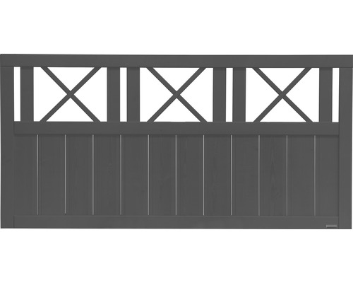 Gard Provence 180 x 90 cm, antracit