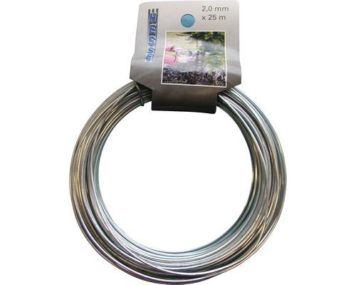 Sârmă de legat zincată 2,0mm x 25m